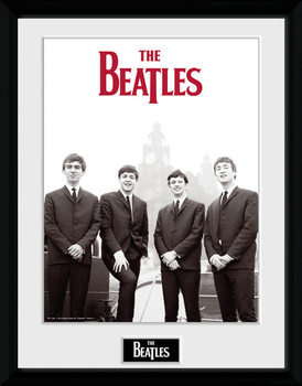 The Beatles - Boat marco de plástico
