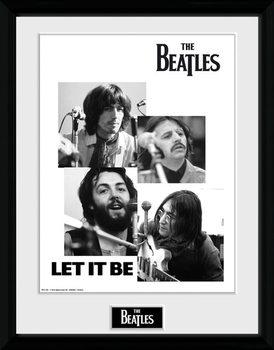 The Beatles - Let It Be marco de plástico