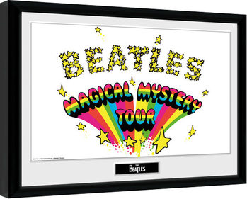The Beatles - Magical Mystery Poster enmarcado