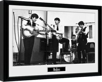 The Beatles - Studio Poster enmarcado