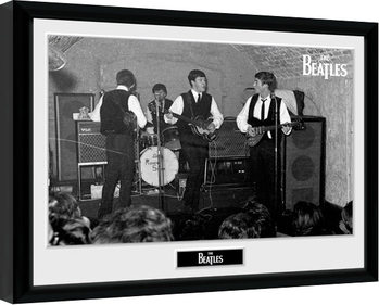 The Beatles - The Cavern 2 Poster enmarcado