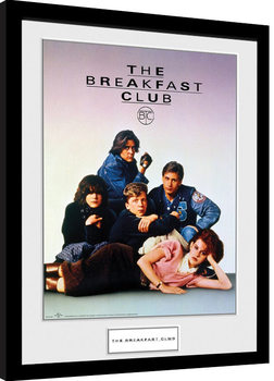 The Breakfast Club - Key Art Poster enmarcado