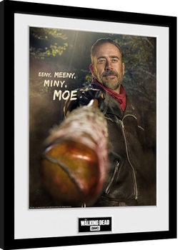 The Walking Dead - Negan Poster enmarcado