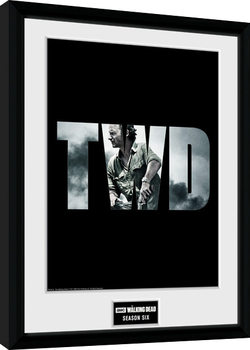 The Walking Dead - Season 6 Poster enmarcado