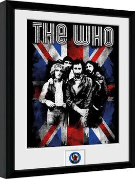 The Who - Union Jack Poster enmarcado