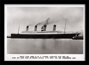 Titanic (1) Poster enmarcado
