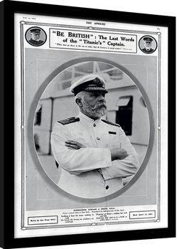 Poster enmarcado Titanic (5)