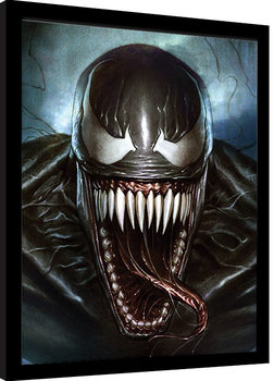 Poster enmarcado Venom - Sinister Smile