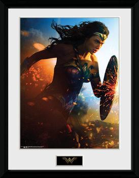 Wonder Woman - Run marco de plástico