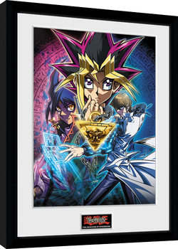 Yu Gi Oh - Dark Side of Dimension Key Art Poster enmarcado