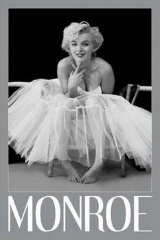 Marilyn Monroe - ballerina - плакат (poster)