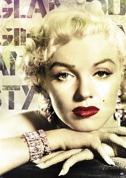 MARILYN MONROE - плакат (poster)
