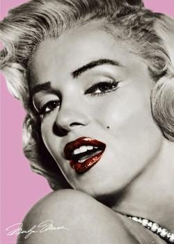 MARILYN MONROE - pink - плакат (poster)