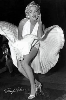 Marilyn Monroe - seven year - плакат (poster)