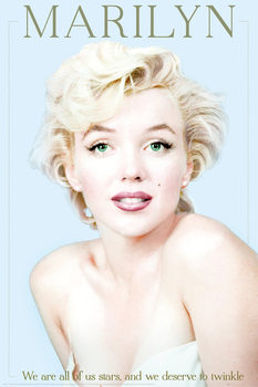 Marilyn Monroe - We Are All Stars - плакат (poster)