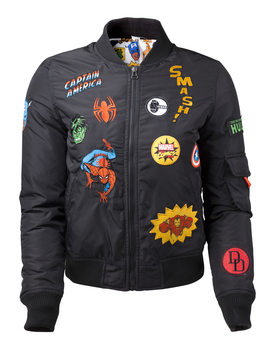 Chaqueta Marvel - Black Patches