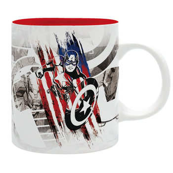 Taza Marvel - Captain America Design