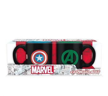 Taza Marvel - Captain America + Hulk