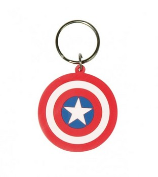 MARVEL - captain america shield kulcsatartó
