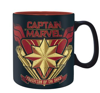 Tazza Marvel - Captain Marvel
