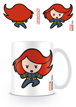 Cană Marvel Kawaii - Black Widow