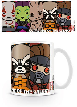 Tazza Marvel Kawaii - Guardians Of The Galaxy