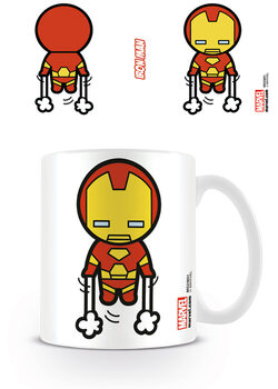 Becher Marvel Kawaii - Iron Man