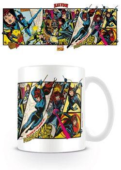 Hrnek Marvel Retro - Black Widow Panels