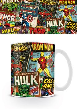 Mugg Marvel Retro - Covers