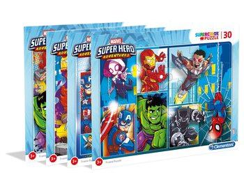 Πъзели Marvel - Super Hero - Frame  4in1
