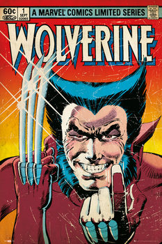MARVEL - wolverine  - плакат (poster)