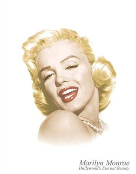 Marylin Monroe - Eternal Beauty Metalen Wandplaat