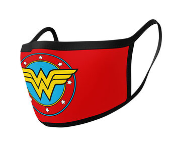 Ropa Mascarillas Wonder Woman - Logo