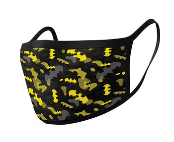 Odjeća Maske za lice Batman - Camo Yellow (2 pack)