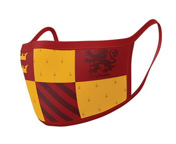 Maske za lice Harry Potter - Gryffindor (2 pack)