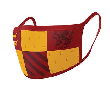 Maske za lice Harry Potter - Gryffindor (2 pack)