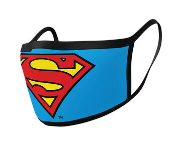 Maske za lice Superman - Logo (2 pack)