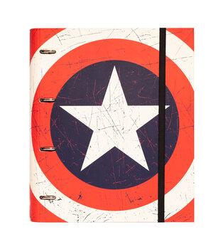 Materiały biurowe Captain America - Shield