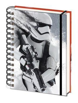 Gwiezdne wojny, część VII : Przebudzenie Mocy - Stormtrooper Paint A5 Notebook Materiały Biurowe