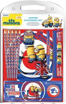Minionki - British Mod Bumper Stationery Set  Materiały Biurowe