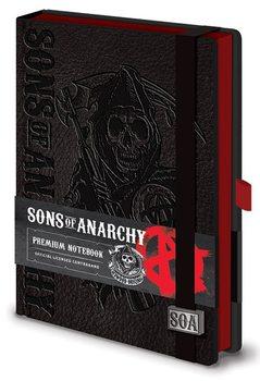 Synowie Anarchii - Premium A5 Notebook Materiały Biurowe