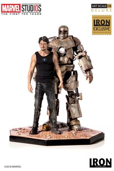 Statuetta MCU 10 Years - Tony Stark & Mark I