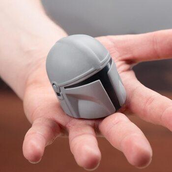 Anti-stresová guľa Star Wars: The Mandalorian - Bounty Hunter helmet