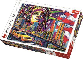 Puzzle Barvy New Yorku