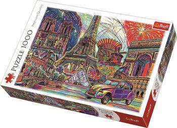 Puzzle Barvy Paříže