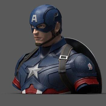 Caja de dinero - Avengers: Endgame - Captain America