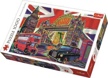 Puzzle Colours of LondonFarby Londýna