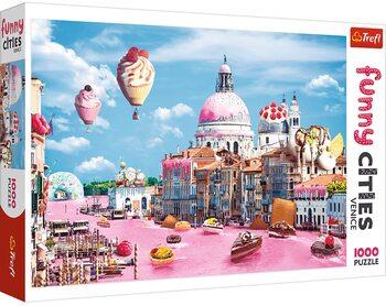 Sestavljanka Crazy City - Sweets in Venice