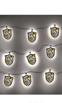 Dekorativne luči Harry Potter - Hufflepuff Crest