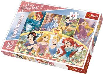 Puzzle Disney princezny